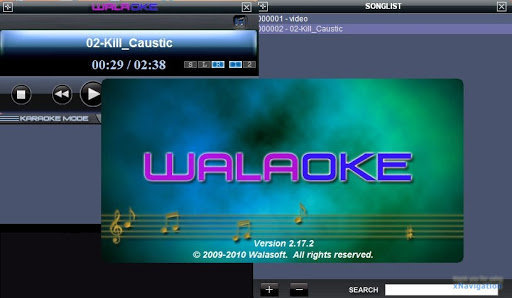 aplikasi karaoke gratis Walaoke Karaoke