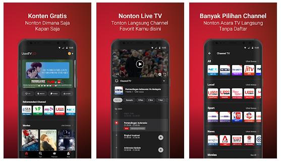 Aplikasi TV Online uSee TV Go