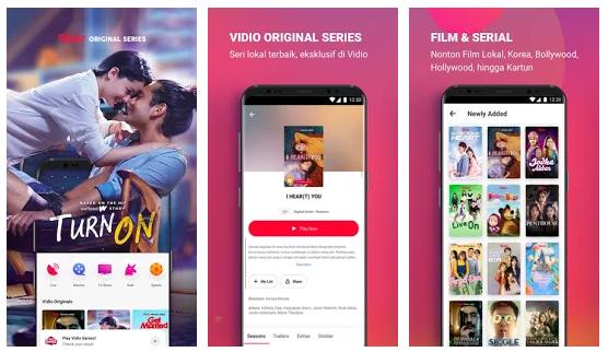 Aplikasi TV Online Vidio