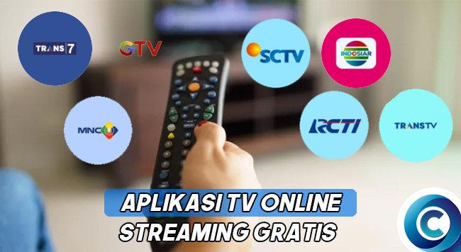 Aplikasi TV Online Streaming Gratis